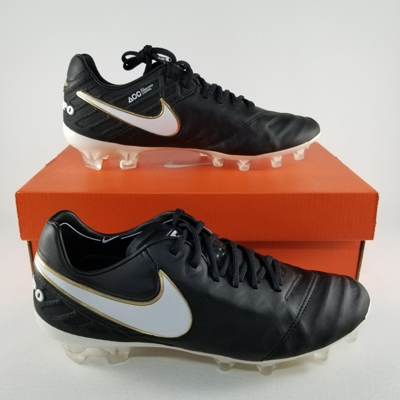 Nike Tiempo Legend VI FG Soccer Cleats Men 6 Black 70be846ca